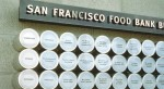 Image of donor recognition wall at San Francisco Food Bank