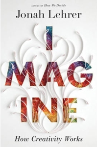 Imagine by Jonah Lehrer (book cover)